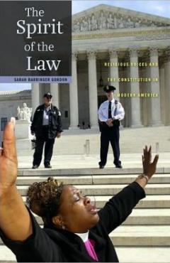 book cover, The Spirit of the Law