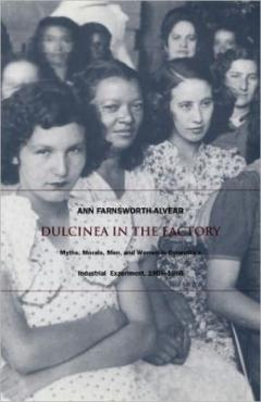 book cover, Dulcinea in the Factory