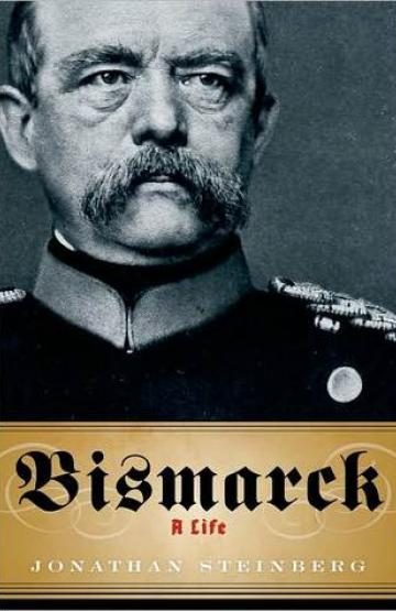 book cover, Bismarck: A Life